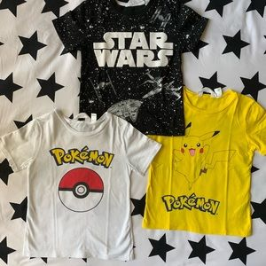 Boys T-shirt bundle size 5 •EUC•